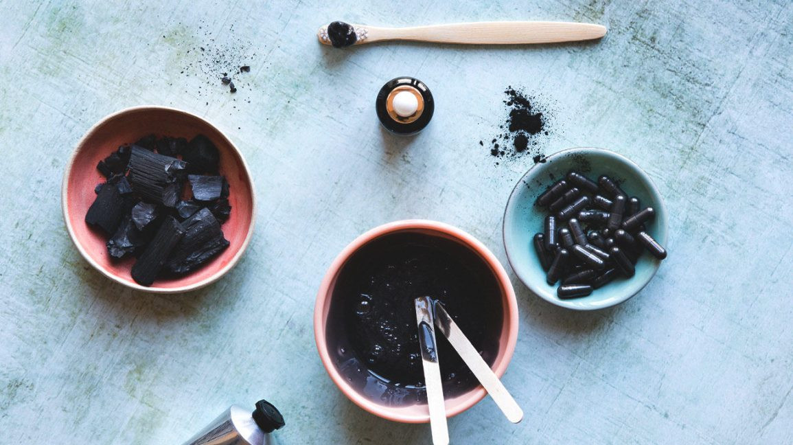 Charcoal Mask DIY Ingredients  DIY Charcoal Mask Recipes How to Apply and Skin Benefits