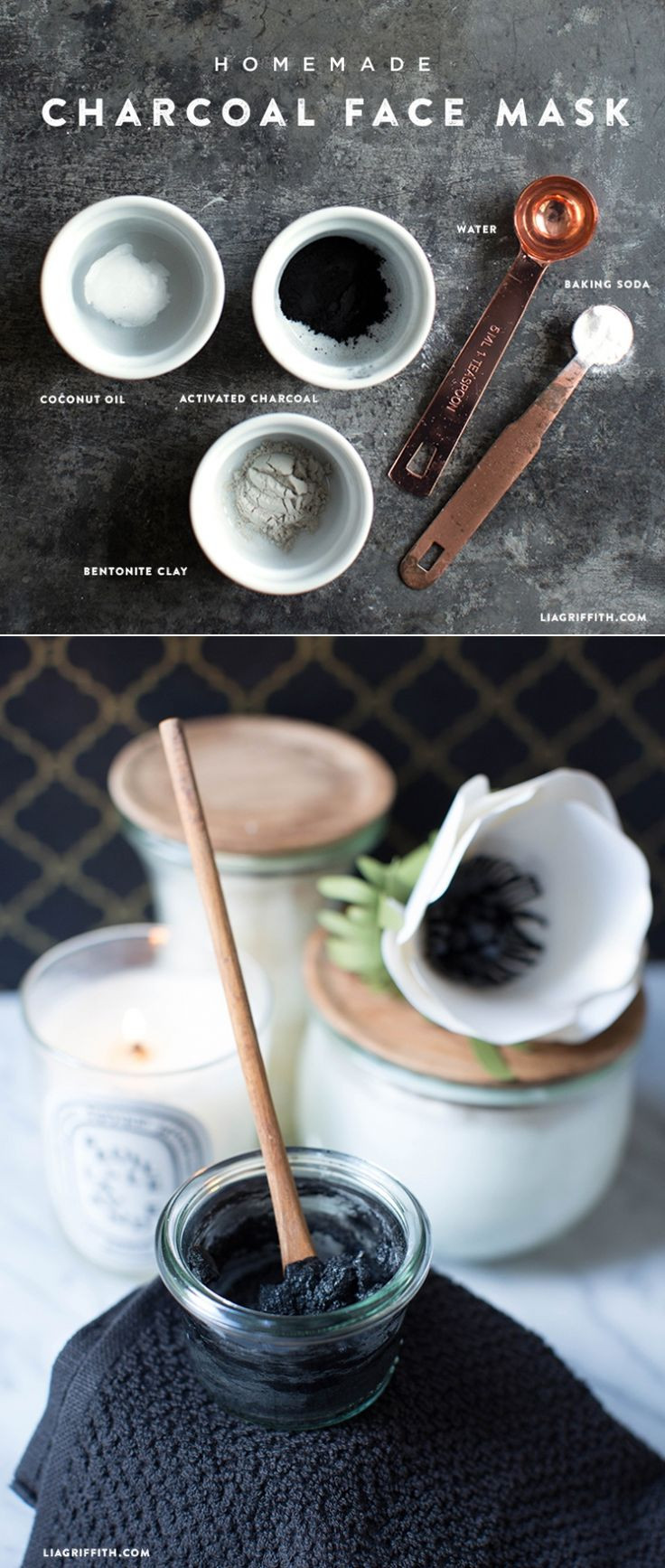 Charcoal Mask DIY Ingredients  Homemade Charcoal Face Mask Recipe