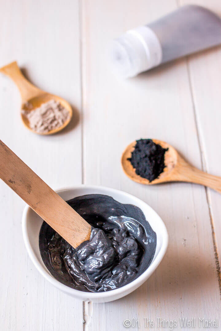 Charcoal Mask DIY Ingredients  DIY Charcoal Face Mask for Acne Prone Skin Oh The