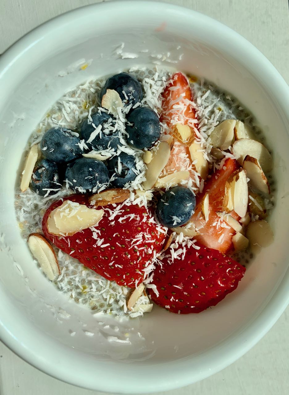Chia Seeds Recipes Indian  Indian inspired Cardamom Chia Seed Pudding