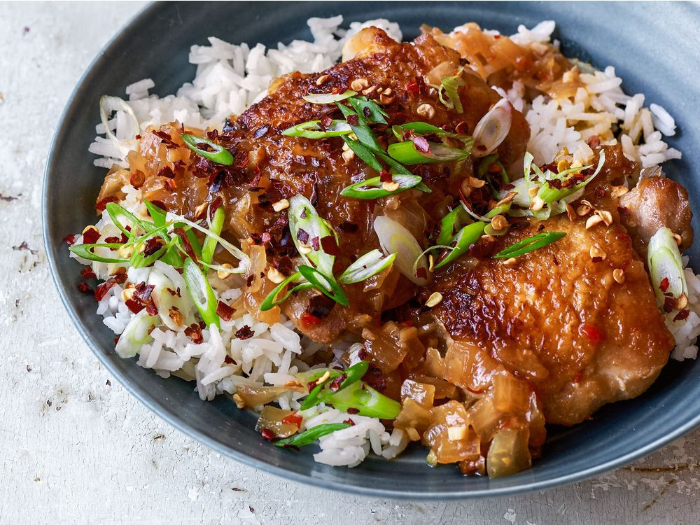 Chicken Thighs Chili  Six O'Clock Solution Sweet Chili Chicken Thighs