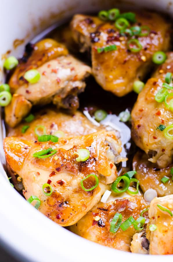 Chicken Thighs Chili  Slow Cooker Thai Chicken Thighs iFOODreal Healthy