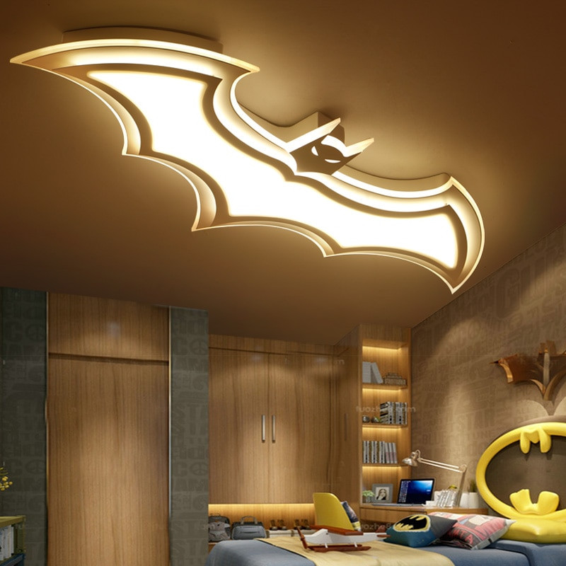 Children Bedroom Lights  Acrylic star ceiling light decorative kids bedroom ceiling