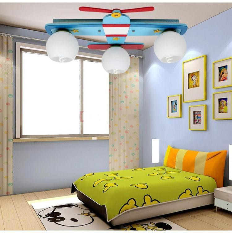 Children Bedroom Lights  Plane Model Children s Bedroom Ceiling Lights Boy Room
