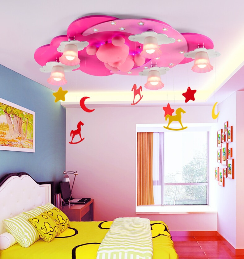 Children Bedroom Lights  Aliexpress Buy Modern Ceiling Light Kids Bedroom