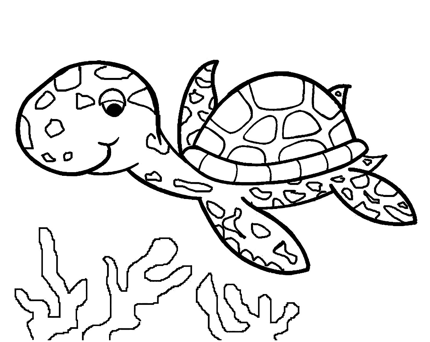 Children Coloring Page  Turtles to print Turtles Kids Coloring Pages