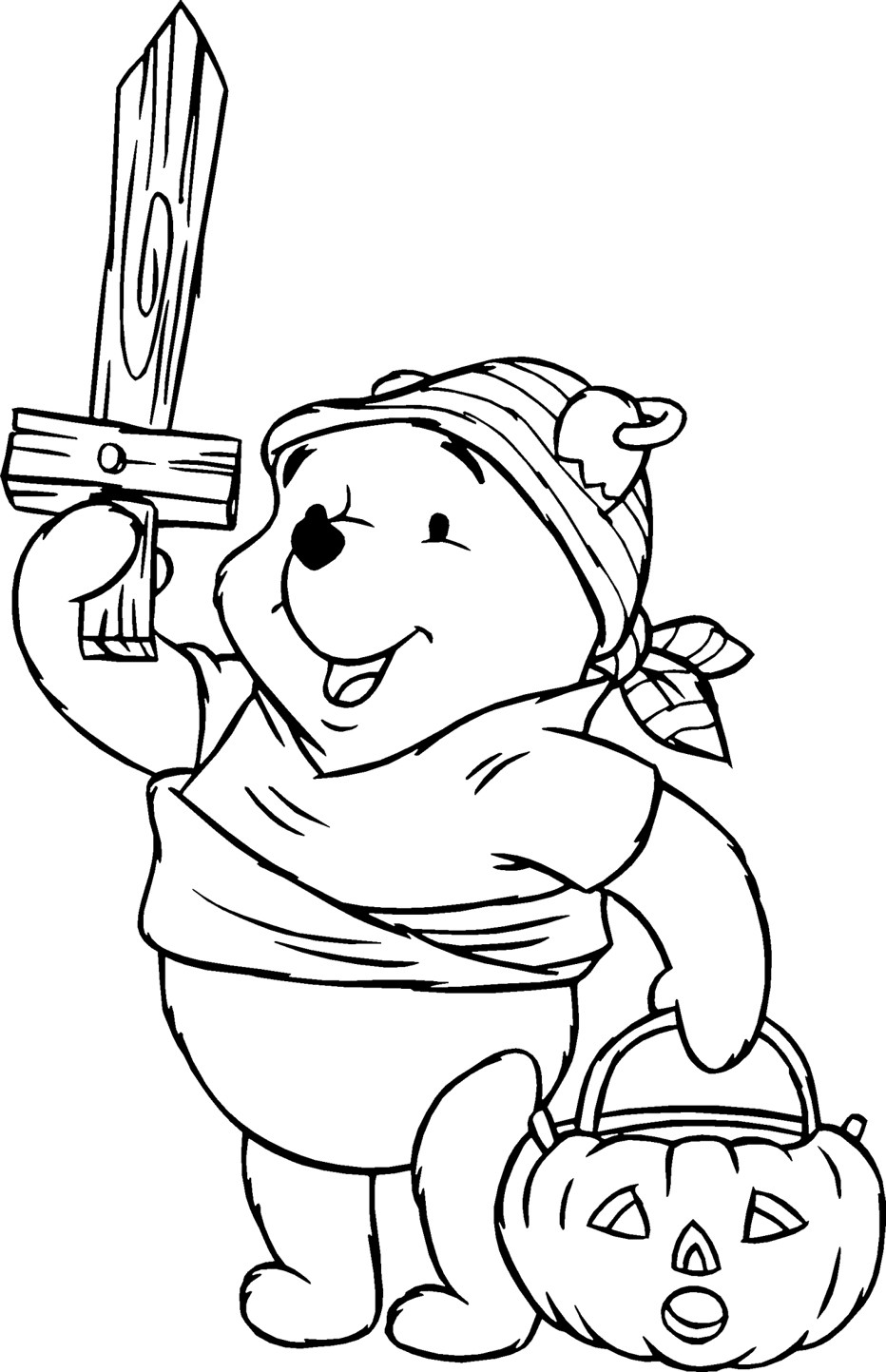 Children Coloring Page  Free Printable Winnie The Pooh Coloring Pages For Kids