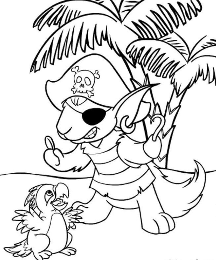 Children Coloring Page  Free Printable Neopets Coloring Pages For kids