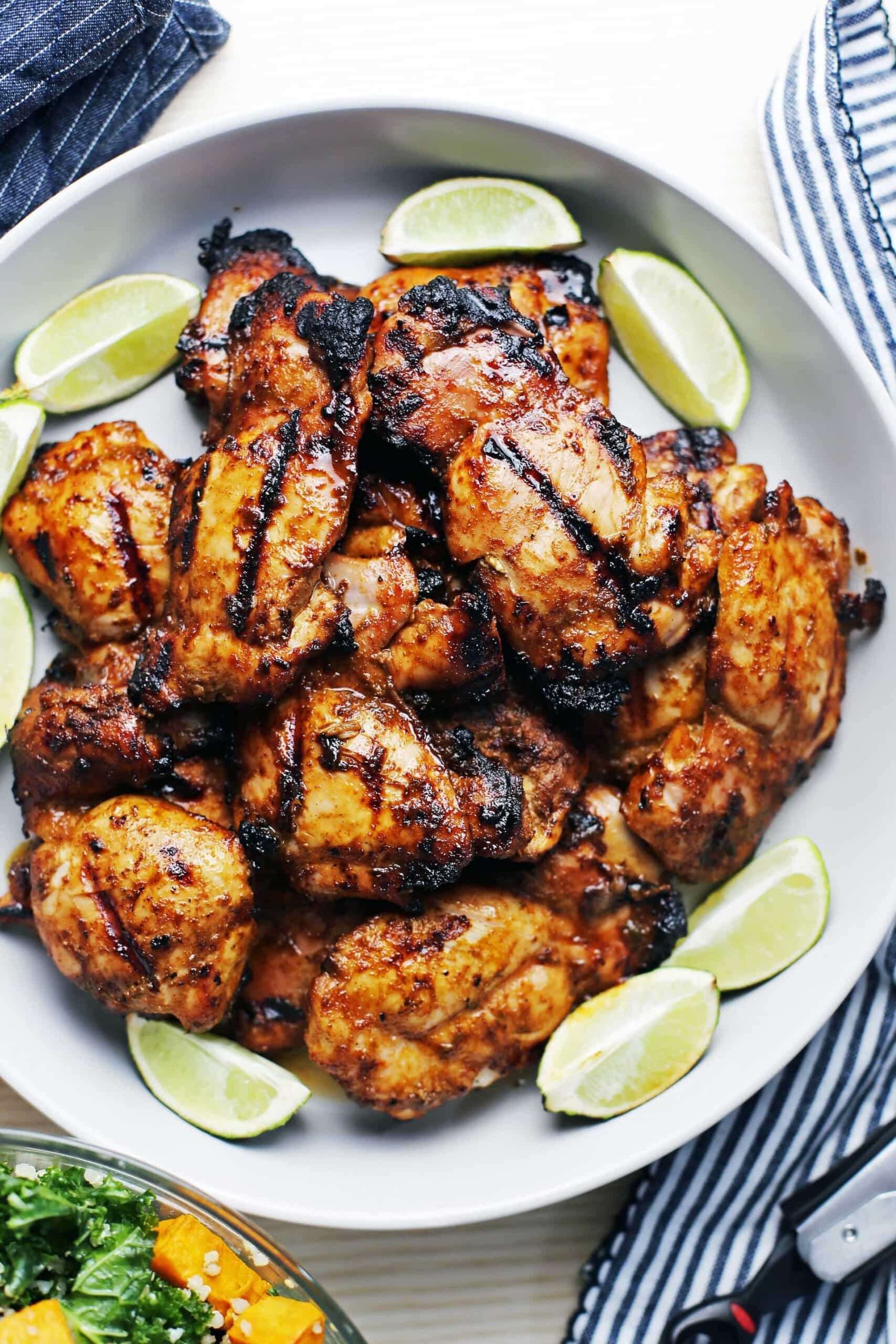 Chili Lime Chicken Recipe  Grilled Chili Lime Chicken Thighs Yay For Food