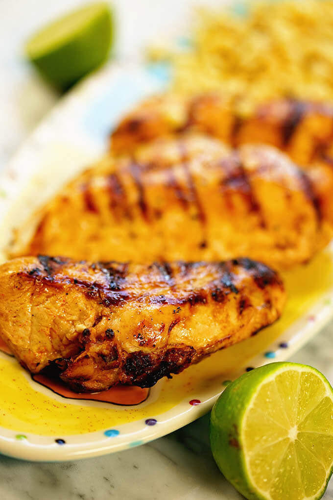 Chili Lime Chicken Recipe  BEST Grilled Chili Lime Chicken Recipe Bowl Me Over