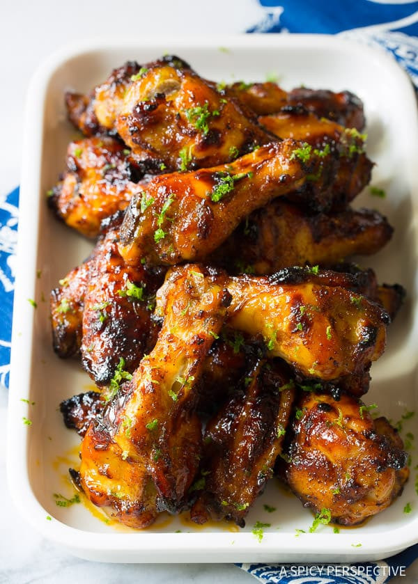 Chili Lime Chicken Recipe  Chili Lime Baked Chicken Wings A Spicy Perspective