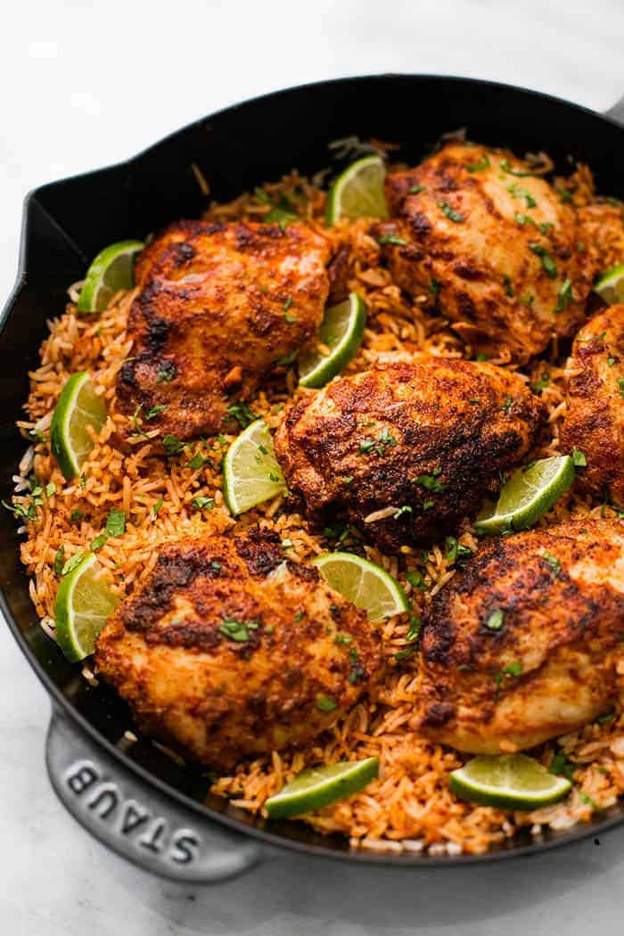 Chili Lime Chicken Recipe  e Pan Chili Lime Chicken and Rice