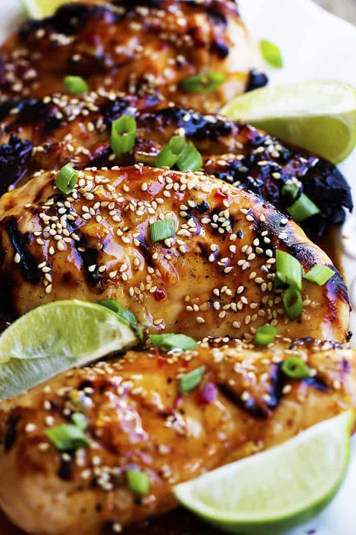 Chili Lime Chicken Recipe  Grilled Sweet Chili Lime Chicken