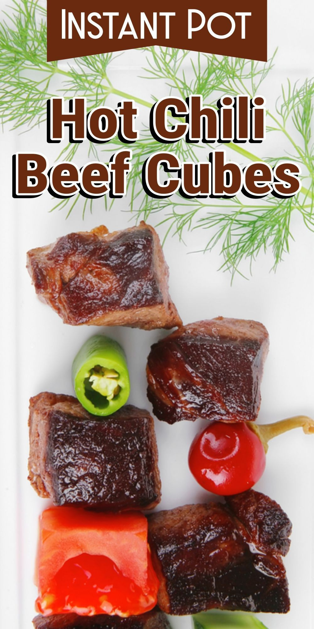 Chili With Beef Cubes  Instant Pot Hot Chili Beef Cubes Recipe