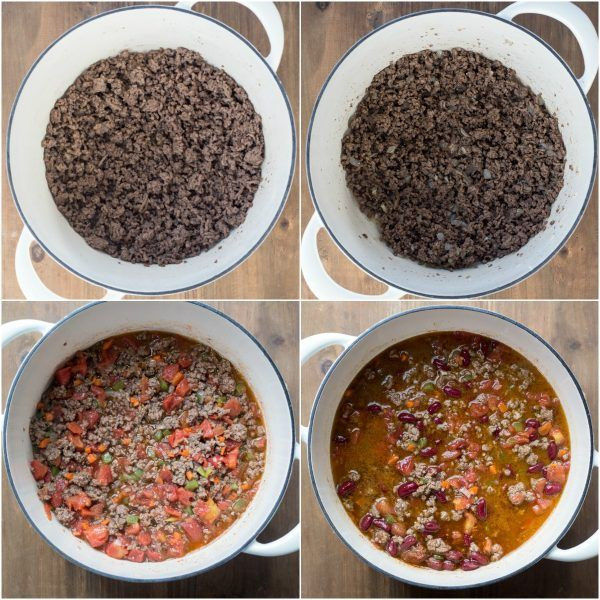 Chili With Beef Cubes  Beef Chili Ingre nts 2 lbs ground beef 1 medium onion