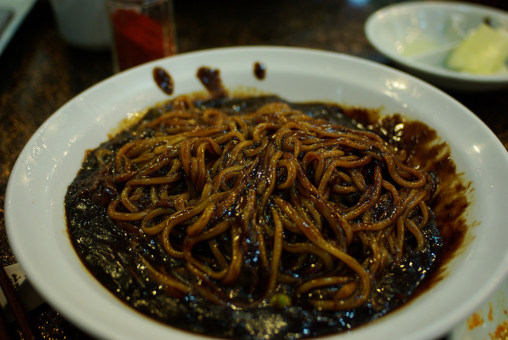 Chinese Black Bean Noodles  7 Foods in Korean Dramas We've All Wanted to Try
