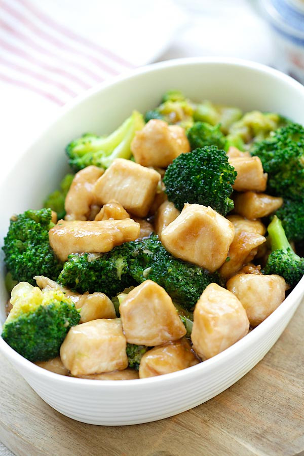 Chinese Chicken And Broccoli Recipes  Chinese Chicken and Broccoli Best Homemade Stir fry