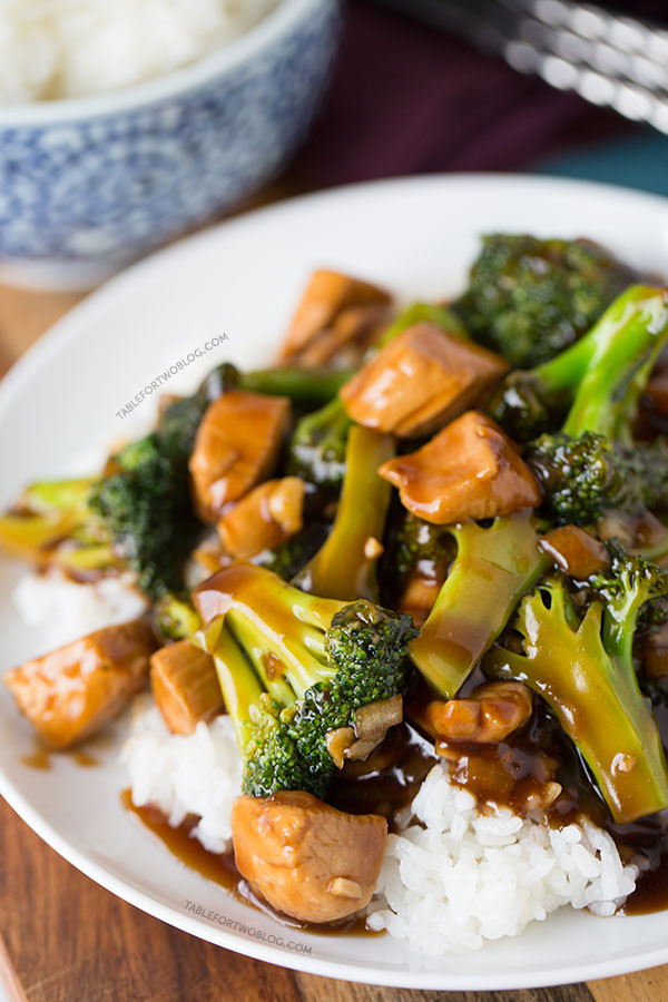 Chinese Chicken And Broccoli Recipes  Easy 20 Minute Teriyaki Chicken and Broccoli Quick