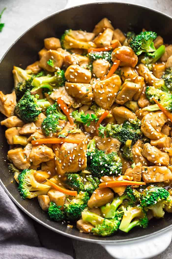 Chinese Chicken And Broccoli Recipes  Instant Pot Chicken and Broccoli Stir Fry Life Made Sweeter