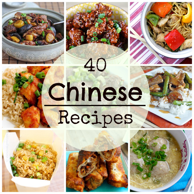 Chinese Foods Recipes With Pictures  40 Chinese Food Recipes What Jew Wanna Eat