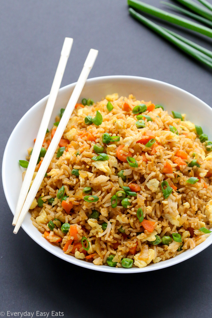 Chinese Foods Recipes With Pictures  Chinese Fried Rice Better than Takeout