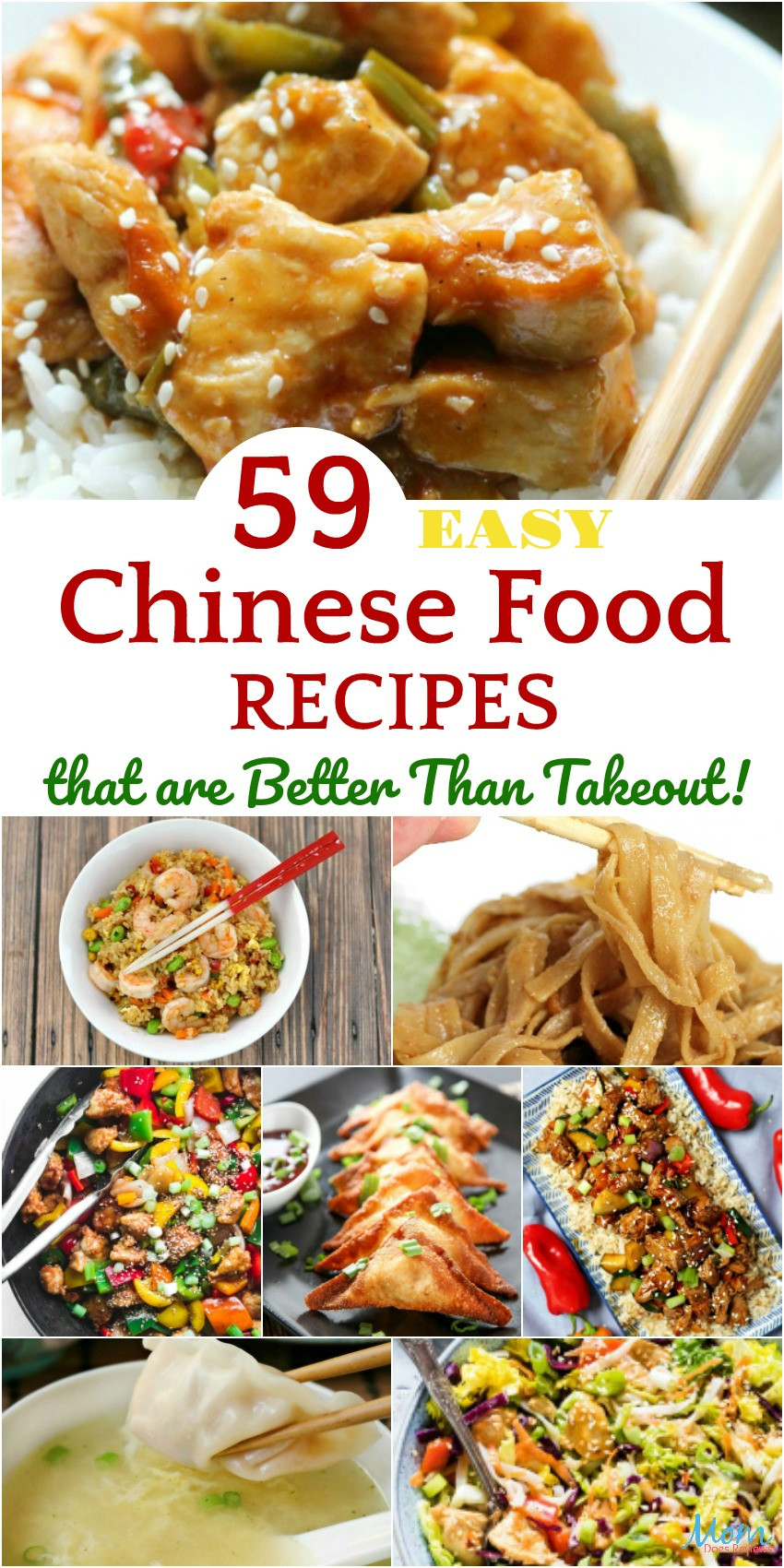 Chinese Foods Recipes With Pictures  59 Easy Chinese Food Recipes that are Better Than Takeout