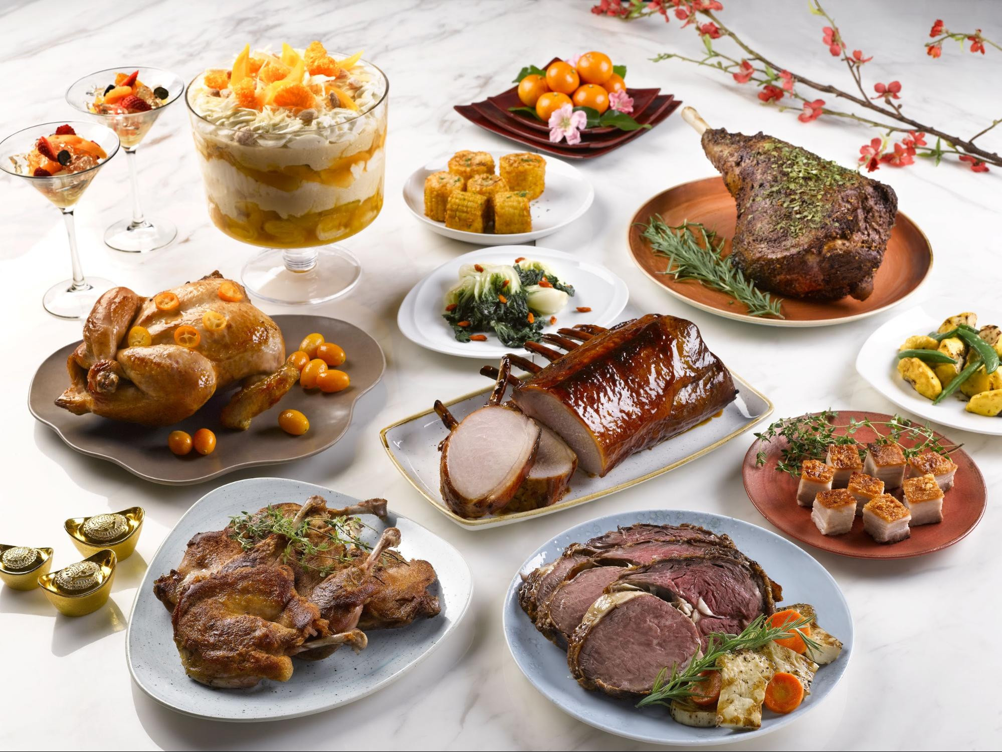 Chinese New Year Dinner  9 reunion dinner spots to start Chinese New Year 2018 on