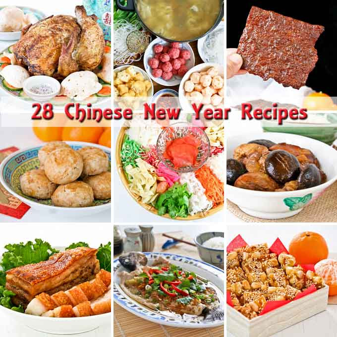 Chinese New Year Foods Recipes  28 Chinese New Year Recipes