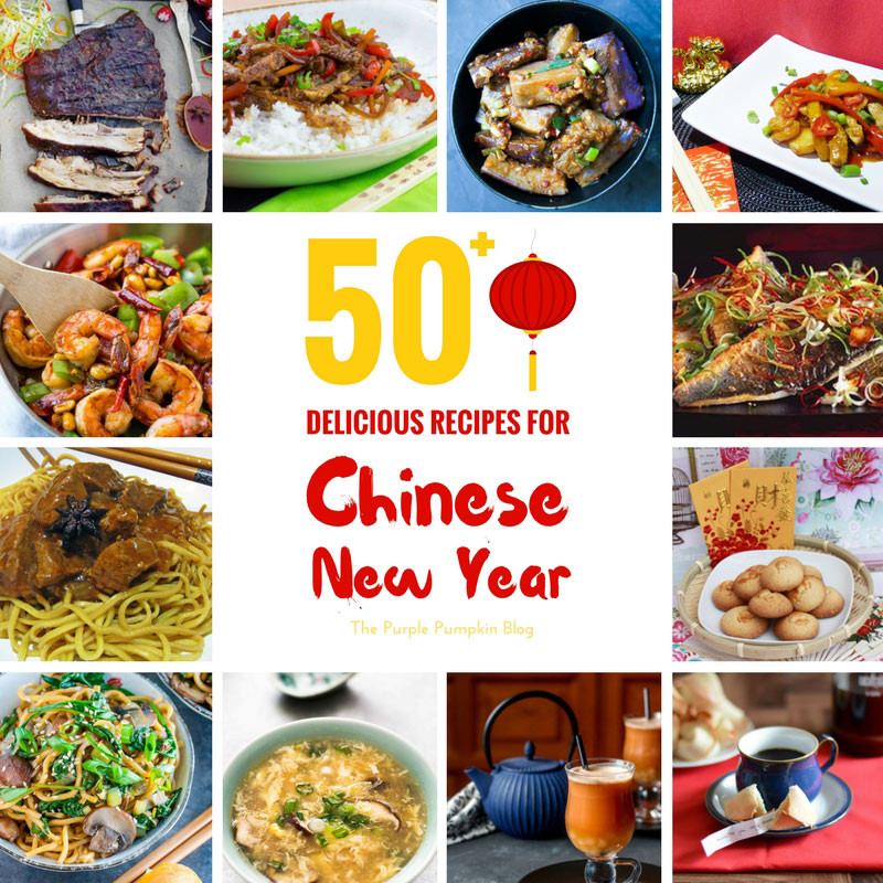 Chinese New Year Foods Recipes  50 Delicious Recipes for Chinese New Year