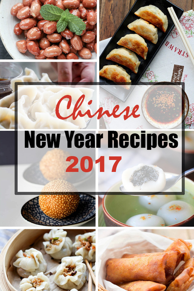 Chinese New Year Foods Recipes  Chinese New Year Recipes for 2017