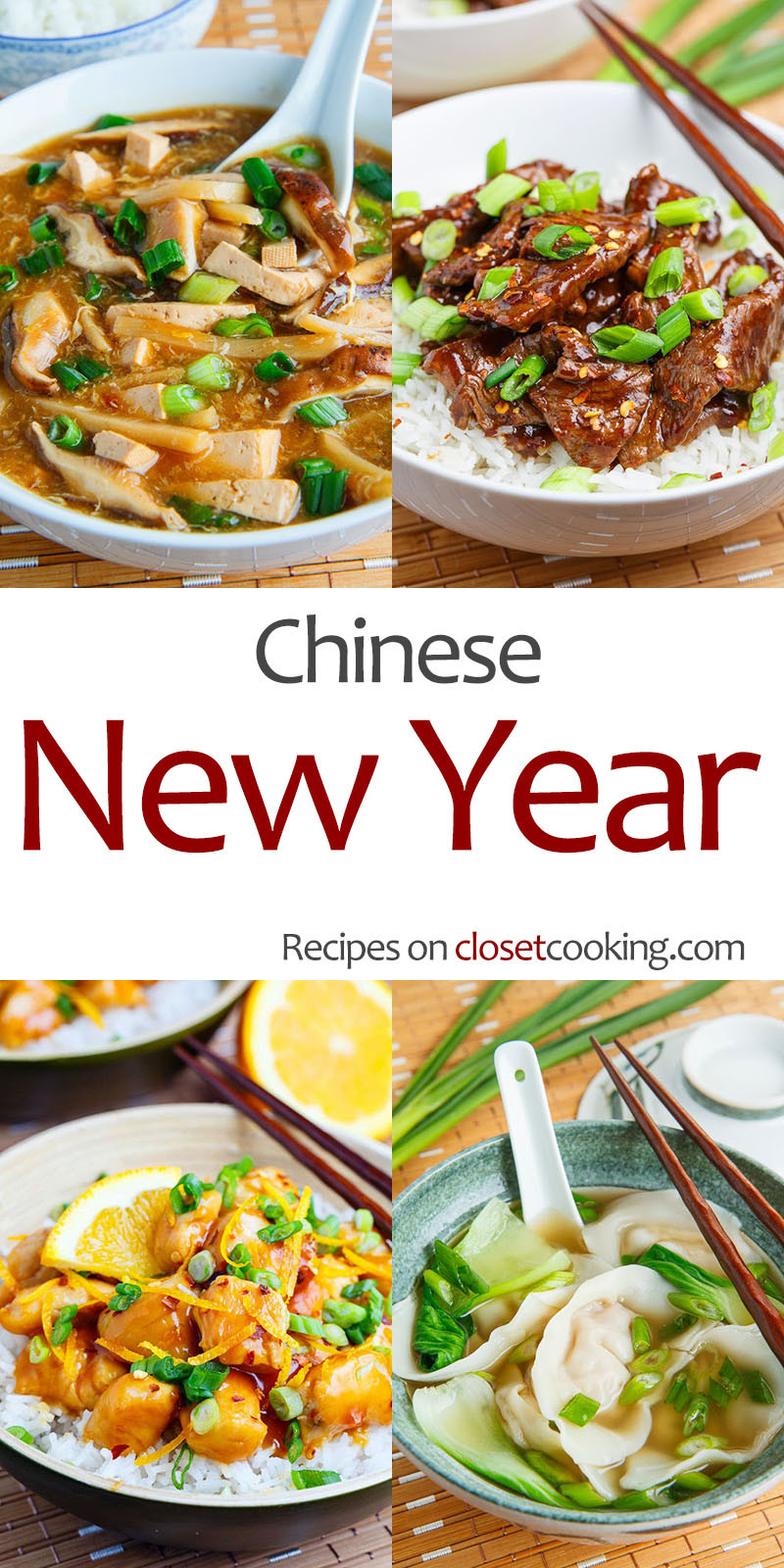 Chinese New Year Foods Recipes  Recipes for the Chinese New Year Closet Cooking