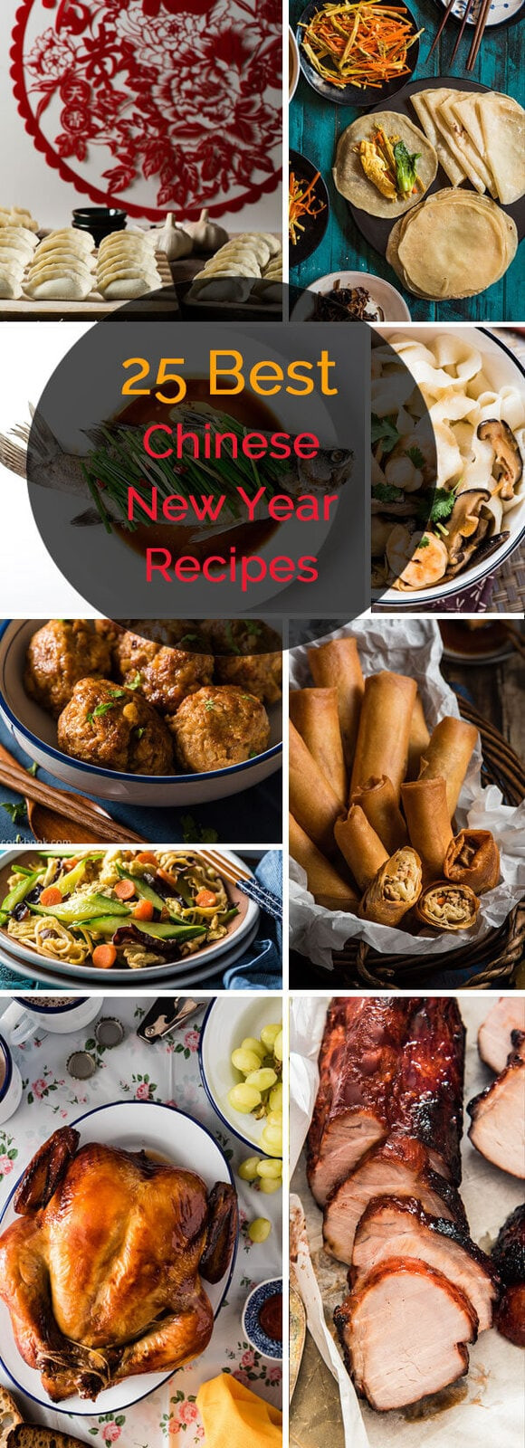 Chinese New Year Foods Recipes  Top 25 Chinese New Year Recipes