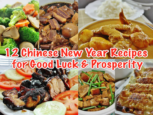 Chinese New Year Foods Recipes  12 Easy Chinese New Year Recipes for Good Luck