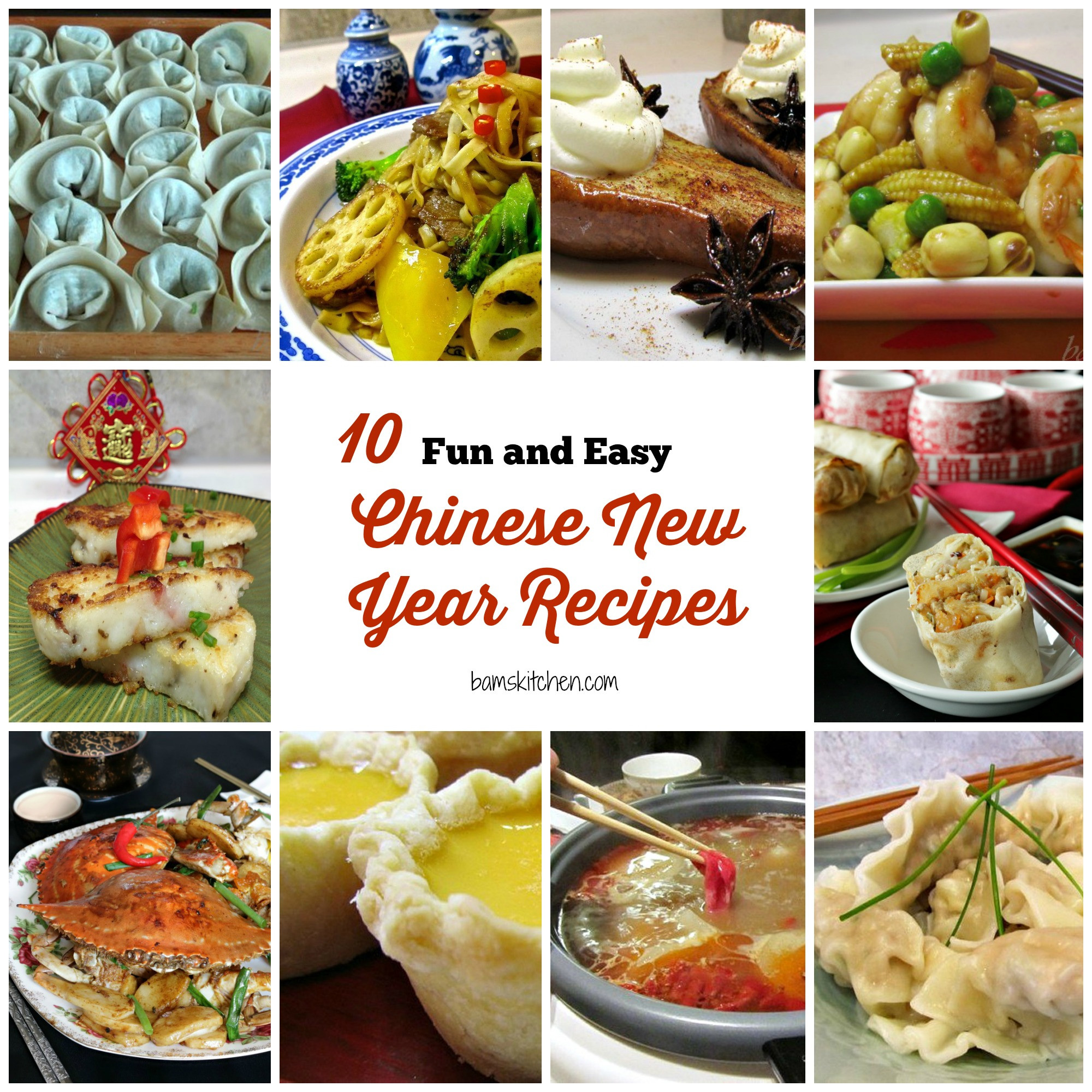 Chinese New Year Foods Recipes  10 Fun and Easy Chinese New Year Recipes Healthy World