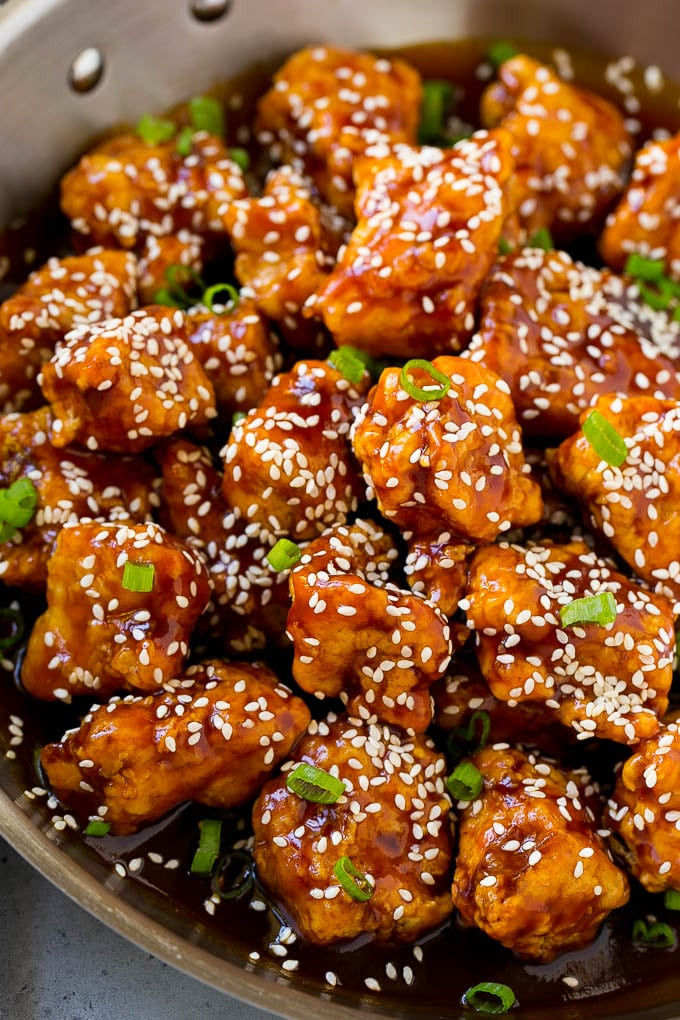 Chinese Pork Recipes  IT'S WHATS FOR DINNER – CHINESE SESAME CHICKEN RECIPE – 30