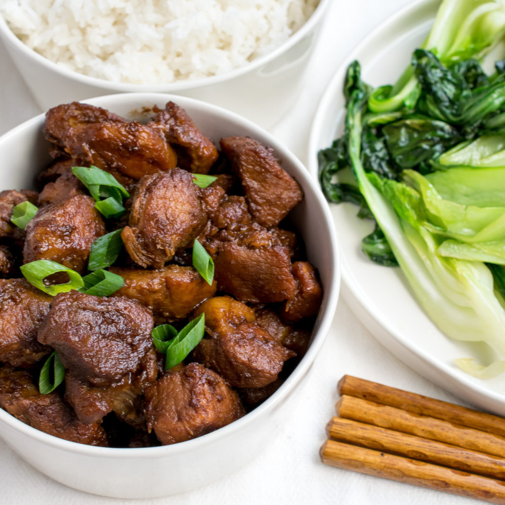 Chinese Pork Recipes  Chinese Braised Pork Shoulder Recipe by Cooks and Kid