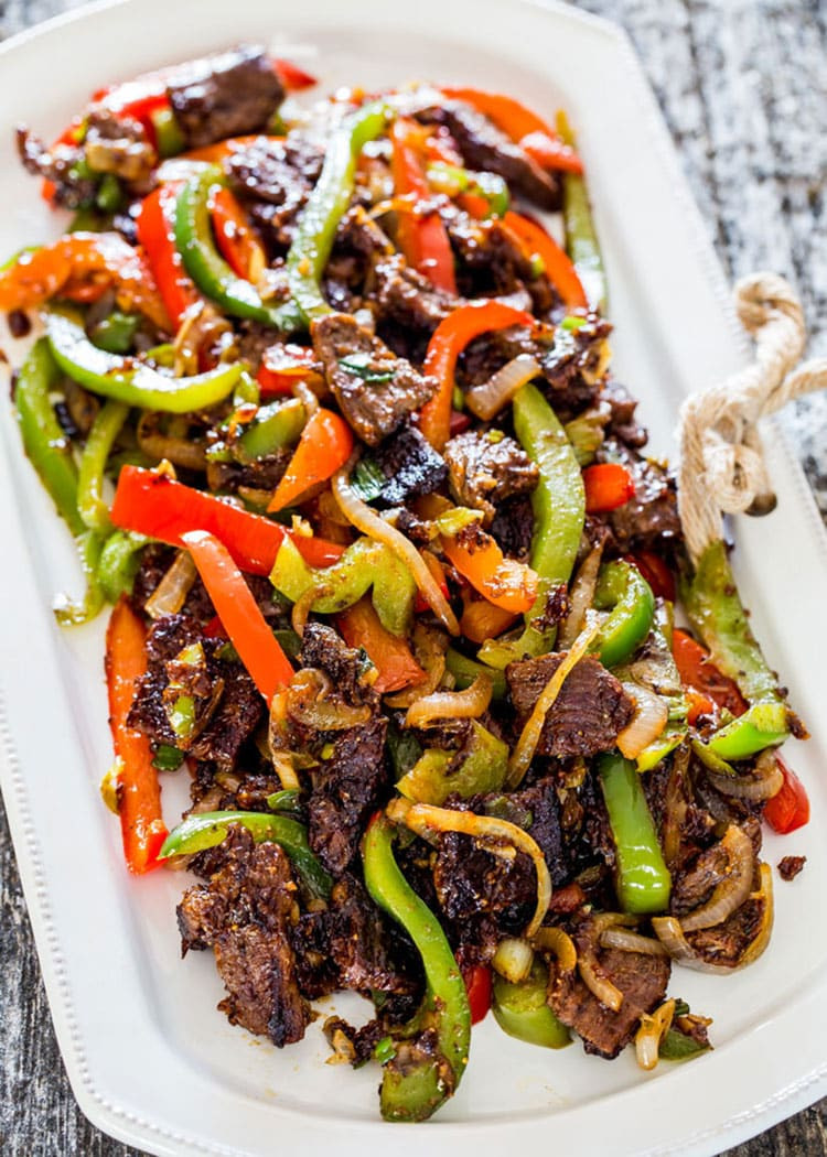 Chinese Steak Recipes  Asian Style Pepper Steak Craving Home Cooked