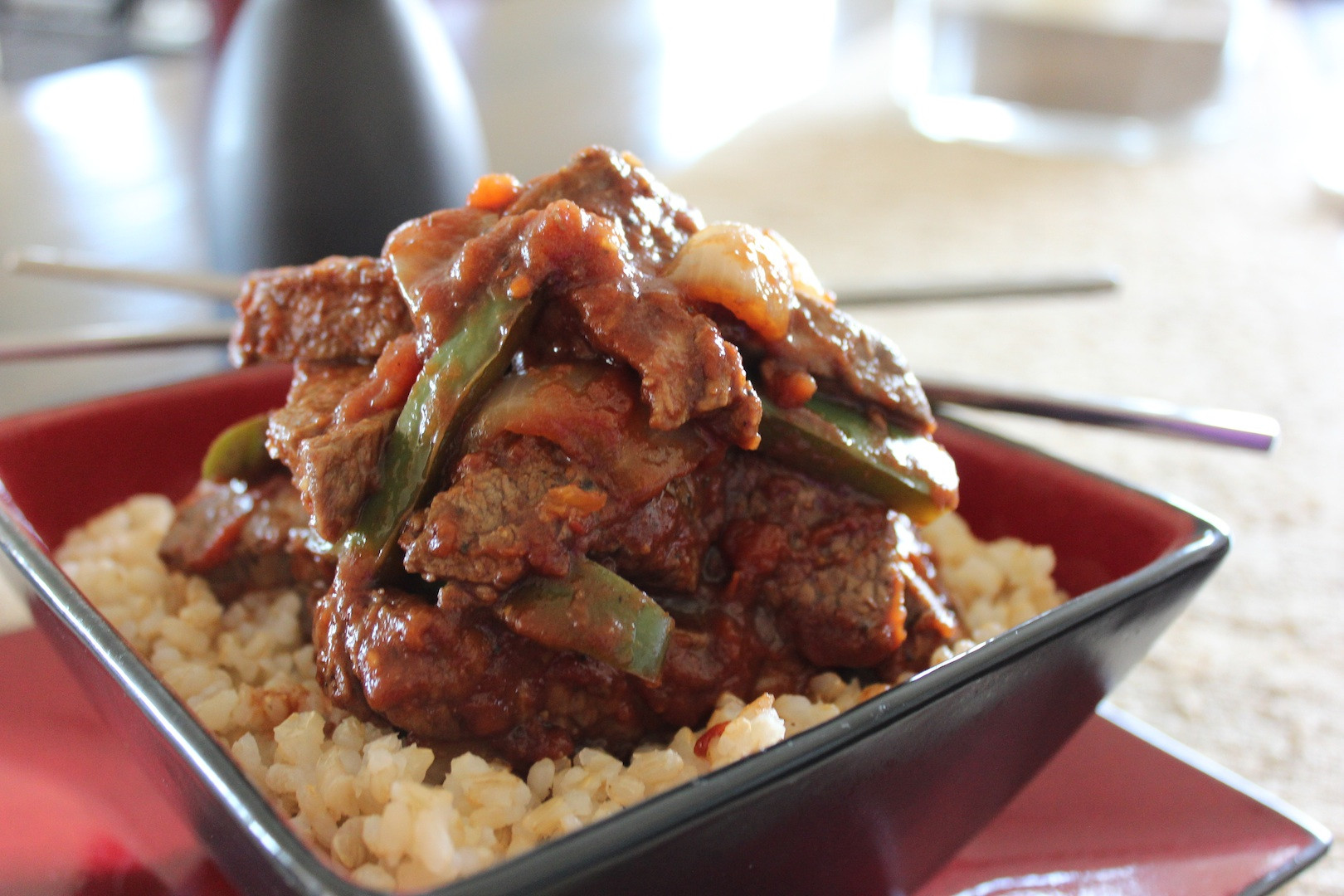 """Chinese Steak Recipes  """"Biggest Loser"""" Chef Devin Alexanders Recipe for Chinese"""