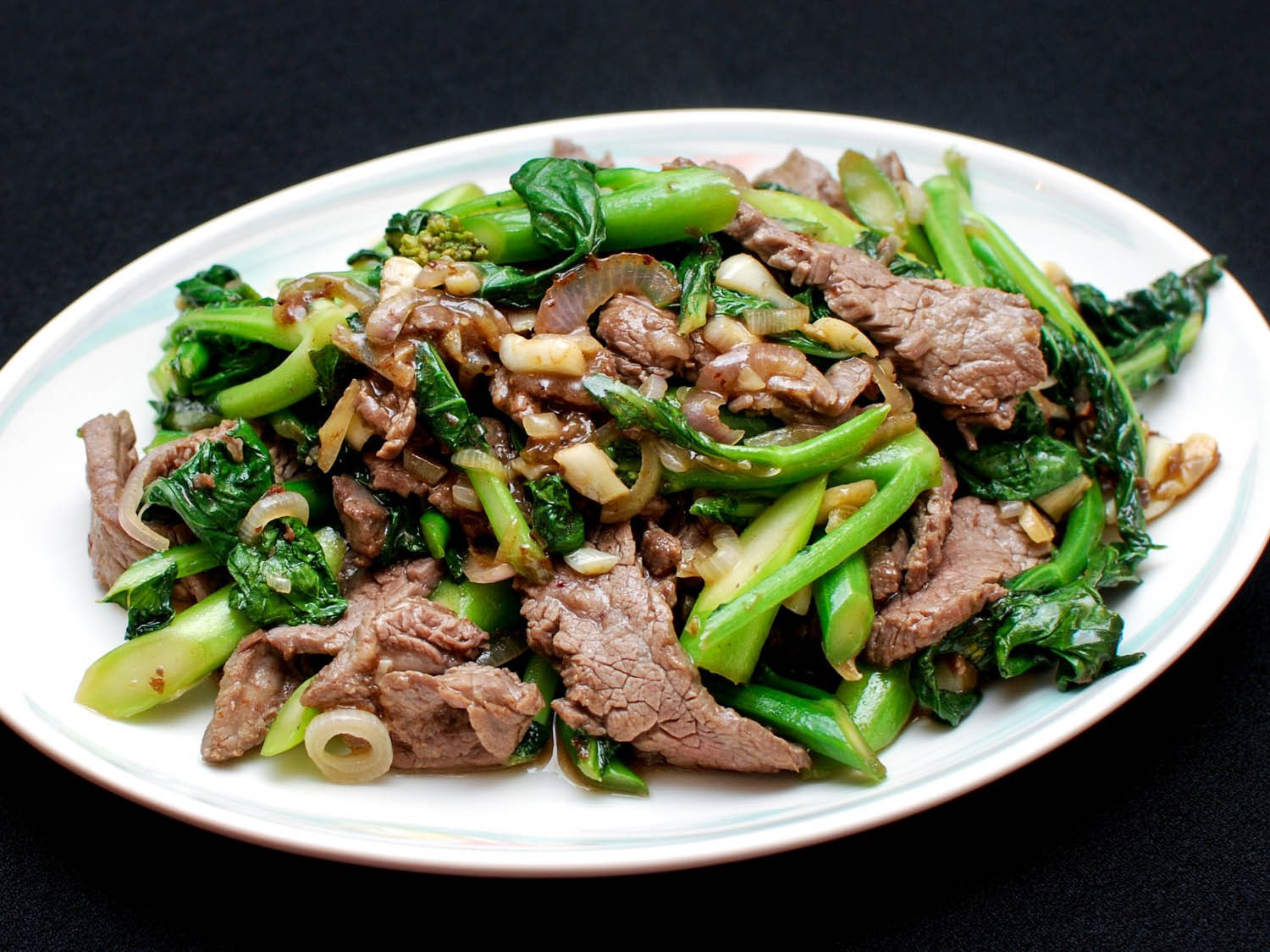 Chinese Stir Fry Recipes  Stir Fried Beef With Chinese Broccoli Recipe