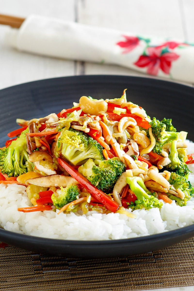 Chinese Stir Fry Recipes  Asian Ve able Stir Fry Recipe Girl