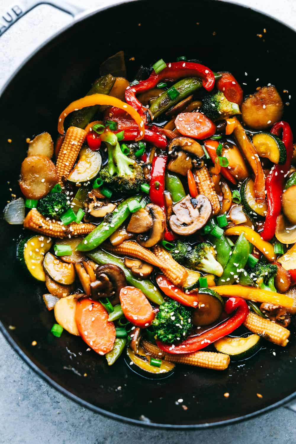 Chinese Stir Fry Recipes  Easiest Ve able Stir Fry