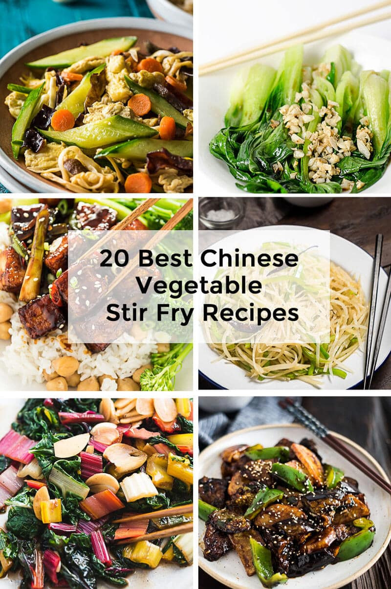 Chinese Stir Fry Recipes  20 Best Chinese Ve able Stir Fry Recipes