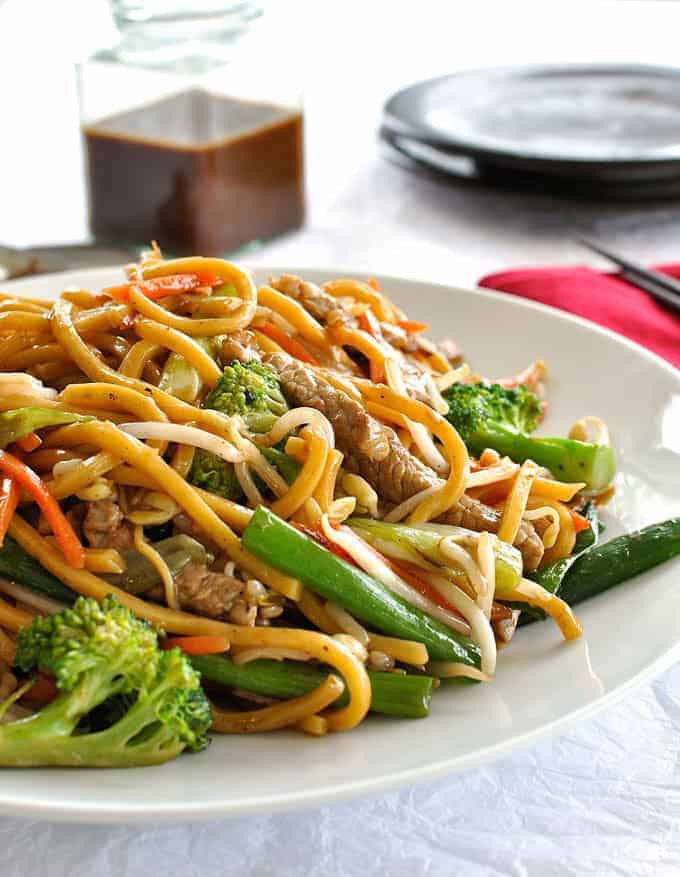 Chinese Stir Fry Recipes  Chinese Stir Fry Noodles Build Your Own