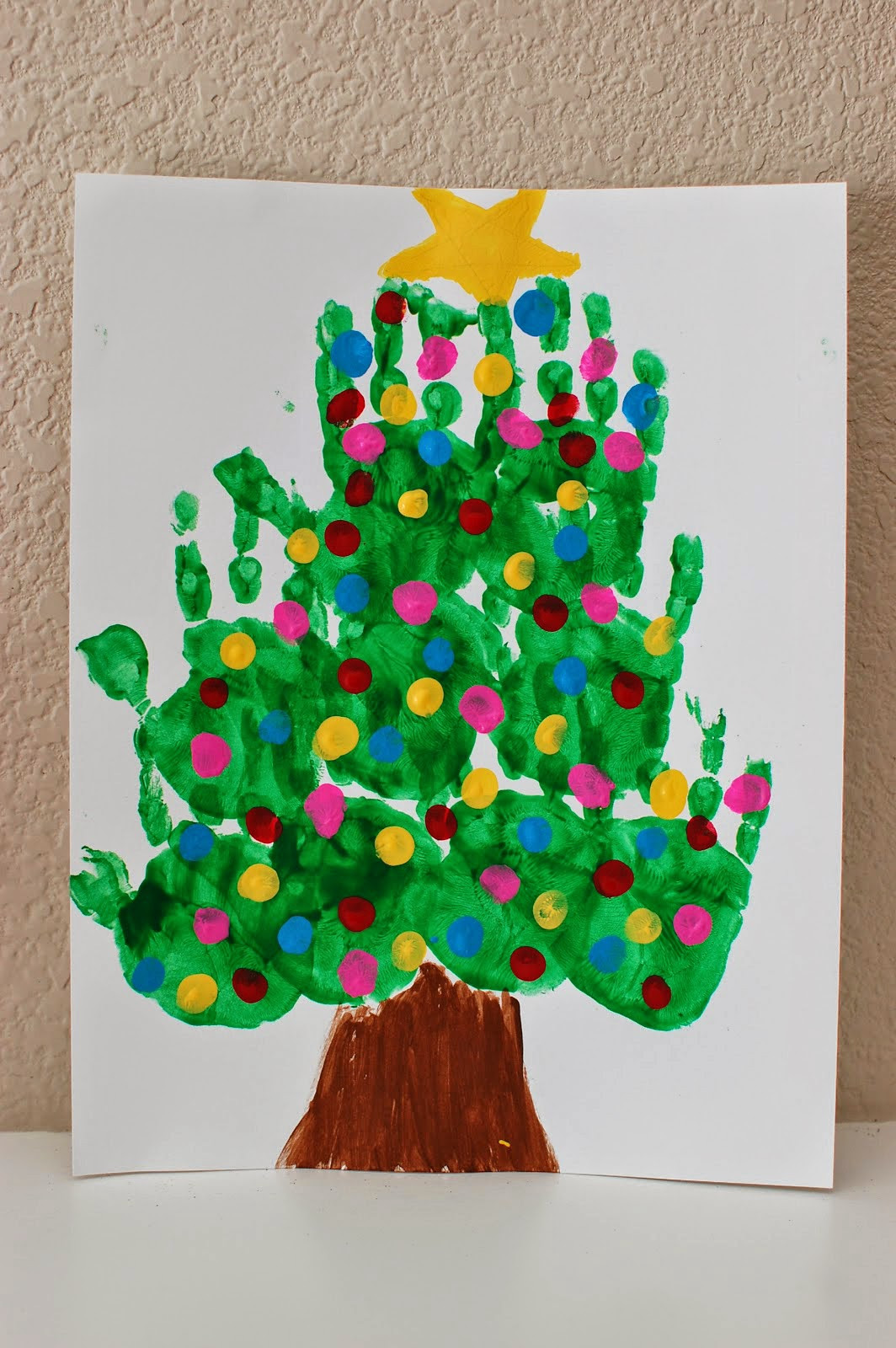 Christmas Arts And Craft Ideas For Toddlers  20 of the Cutest Christmas Handprint Crafts for Kids