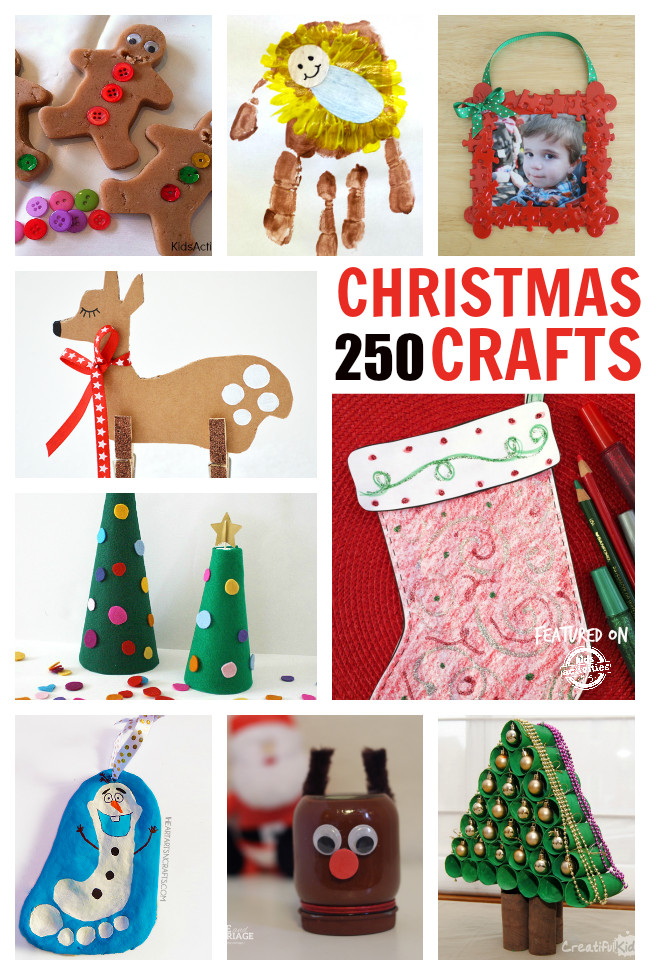 Christmas Arts And Craft Ideas For Toddlers  250 of the Best Christmas Crafts
