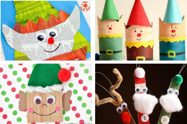 Christmas Arts And Craft Ideas For Toddlers  50 Christmas Crafts for Kids The Best Ideas for Kids