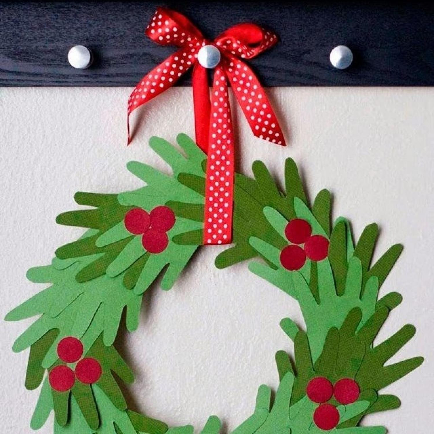 Christmas Arts And Craft Ideas For Toddlers  10 Handprint Christmas Crafts for Kids