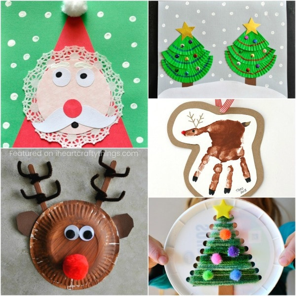 Christmas Arts And Craft Ideas For Toddlers  50 Christmas Arts and Crafts Ideas