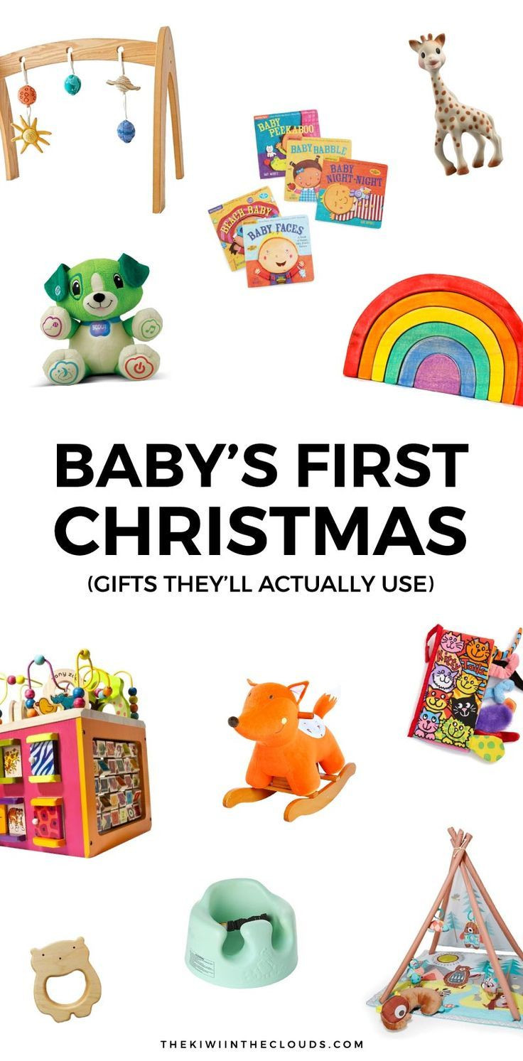 Christmas Gift Ideas From Baby  11 Baby s First Christmas Gifts That Will Actually Get
