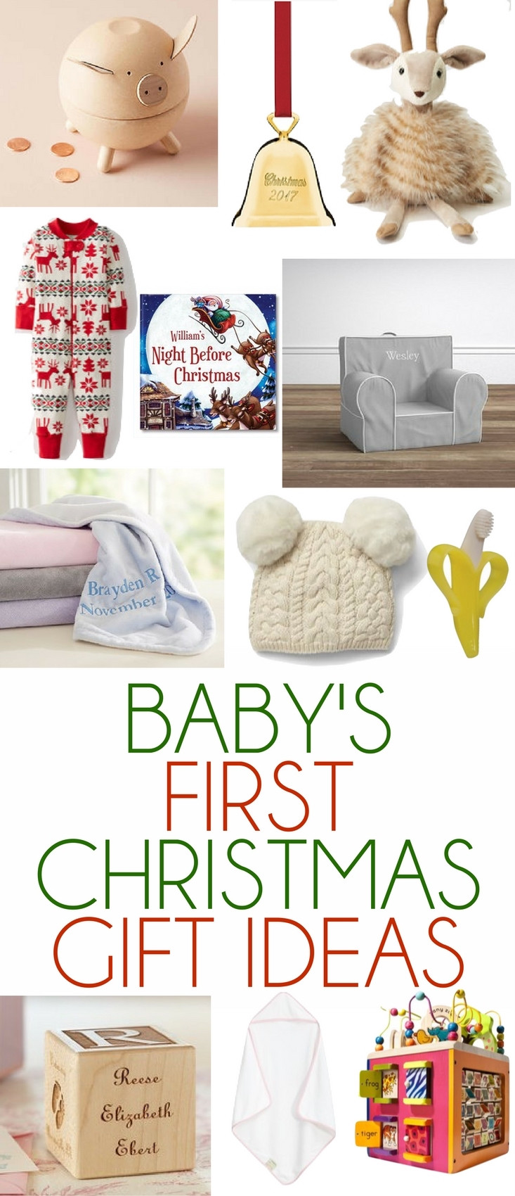 Christmas Gift Ideas From Baby  Baby s First Christmas Gift Ideas Lovely Lucky Life